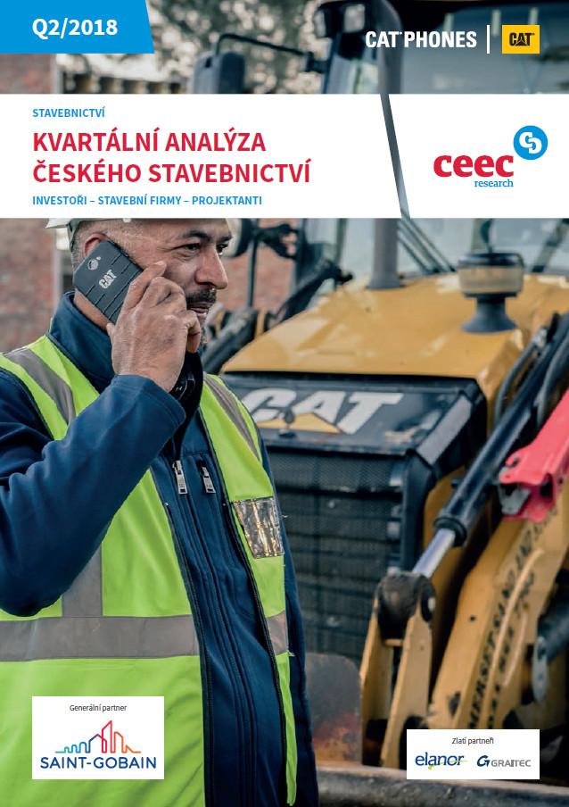 Kvartální analýza českého stavebnictví Q2/2018
