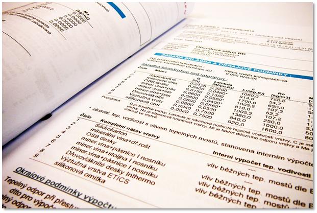 Doklad o provedených energetických výpočtech