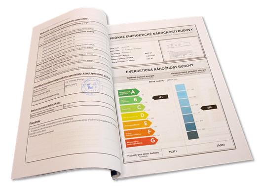 Průkaz energetické náročnosti budovy je dokument, který má několik desítek stran (standardně 50+).