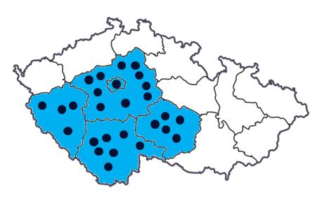 Projekty zateplení a revitalizace v Praze, Středočeském, Jihočeském, Plzeňském kraji a na Vysočině