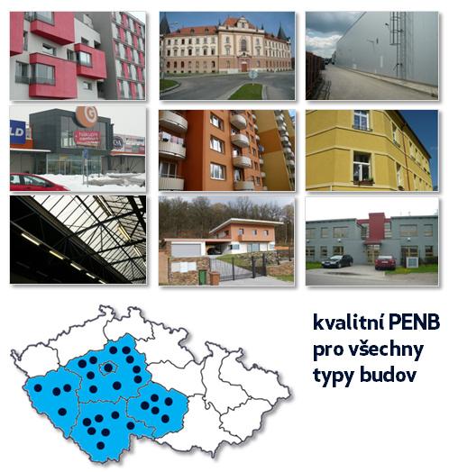 Připravujeme kvalitní PENB pro všechny typy budov - bytové domy, panelové domy, rodinné domy, administrativní či komerční budovy, veřejné stavby apod.