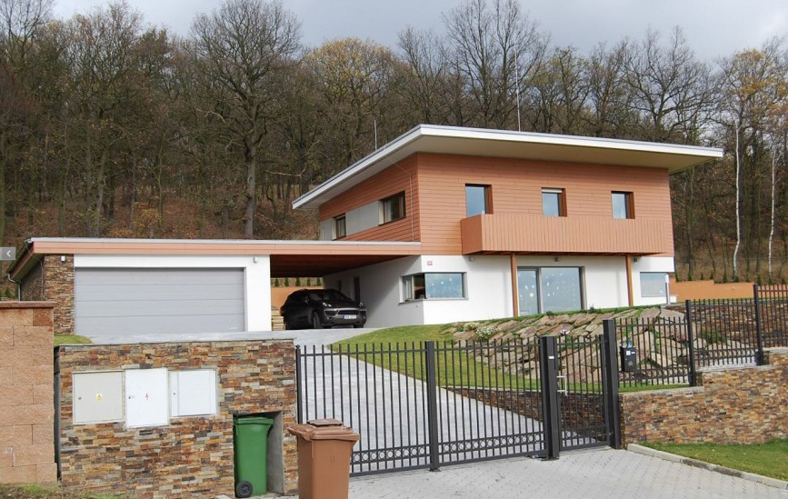 Příklad pasivního domu, pro který jsme zpracovávali odborný posudek pro získání dotace v programu Nová zelená úsporám.