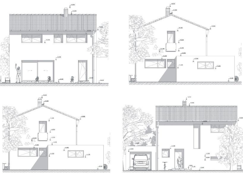 Nová zelená úsporám: příklad projektu pasivního rodinného domu, pro který jsme prováděli optimalizaci