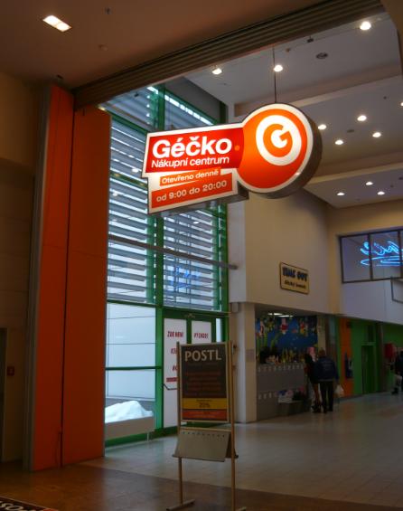 PENB nákupního centra