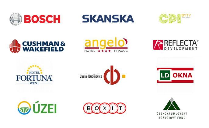 Příklady našich klientů, pro které jsme zpracovávali projekty, energetické audity, PENB, energetické posudky či další produkty.