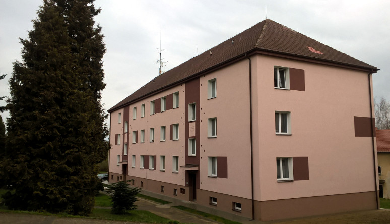 Příklad zatepleného bytového domu (SVJ)