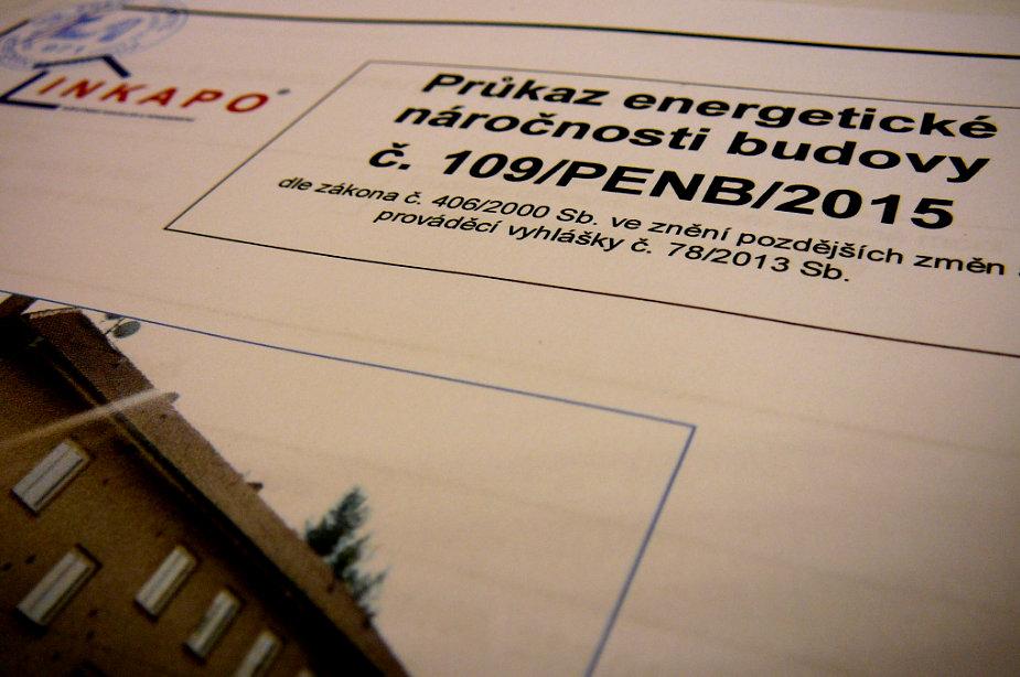 Průkaz energetické náročnosti budovy zpracováváme dle zákona č. 406/2000 Sb. ve znění pozdějších změn a vyhlášky č. 78/2013 Sb.