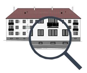 Odpovídající péči věnujeme všem částem revitalizované nemovitosti