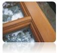Dřevěná okna a dveře - péče o povrch