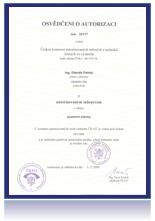 osvědčení o autorizaci pro obor pozemní stavby
