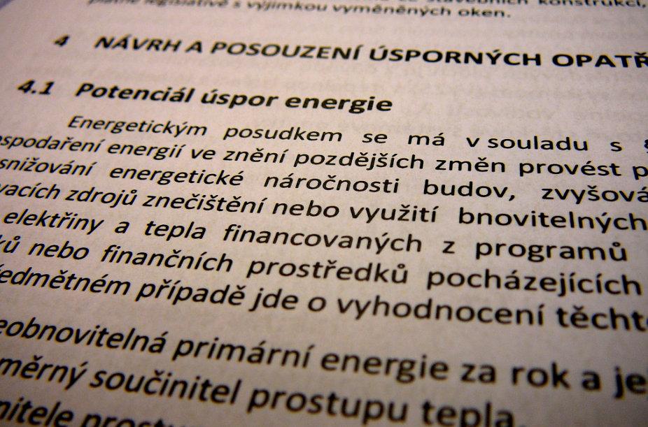 Energetický posudek se zpracovává zejména tehdy, pokud je projektová dokumentace součástí žádosti o dotaci, například v případě dotačního programu Nová zelená úsporám.